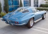 1967 blue corvette l71 coupe 0350