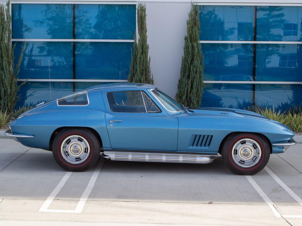 1967 blue corvette l71 coupe 0351