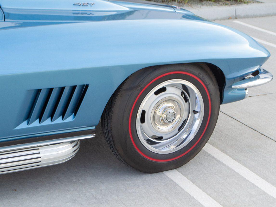 1967 blue corvette l71 coupe 0352