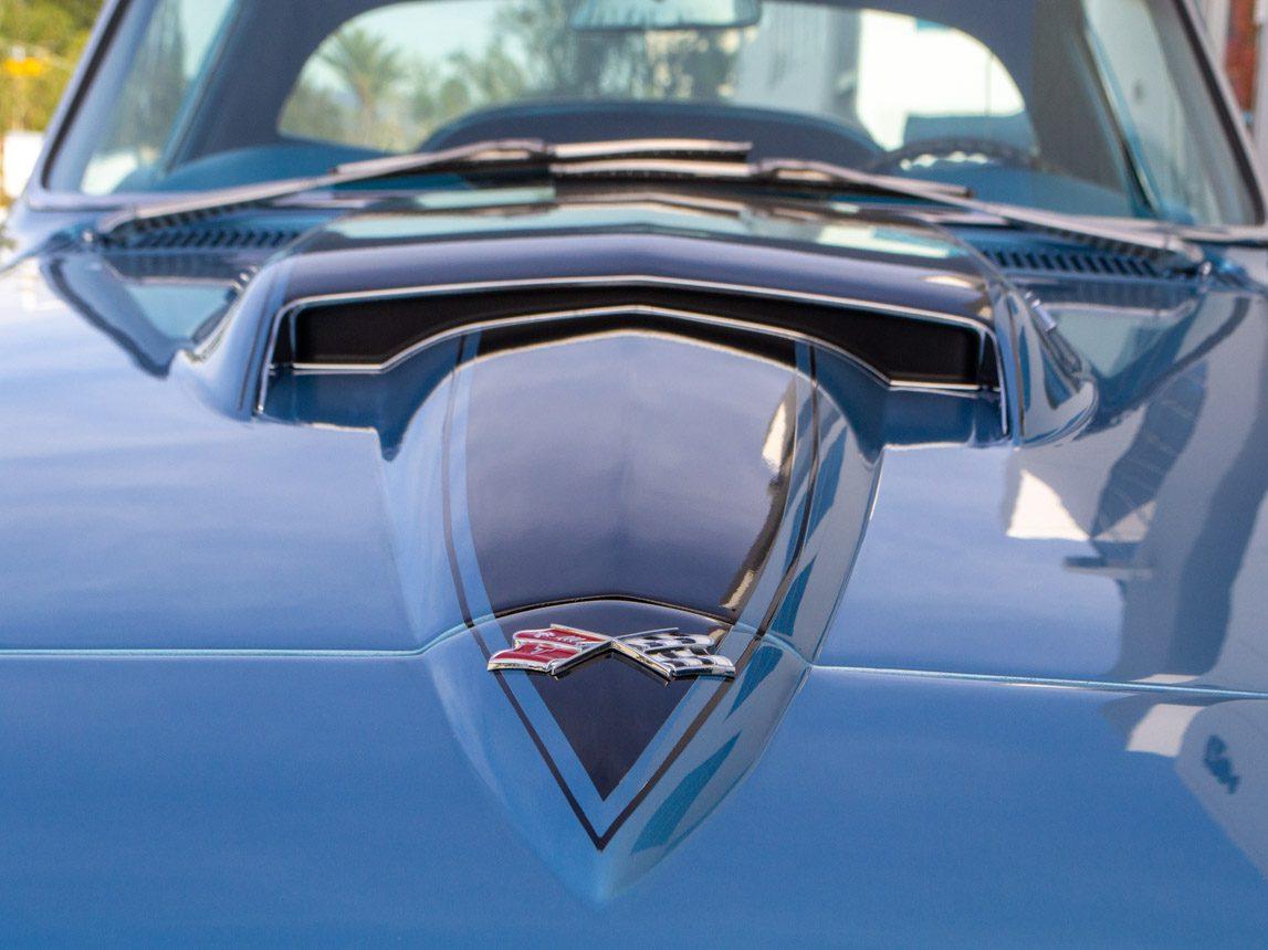 1967 blue corvette l71 coupe 0356