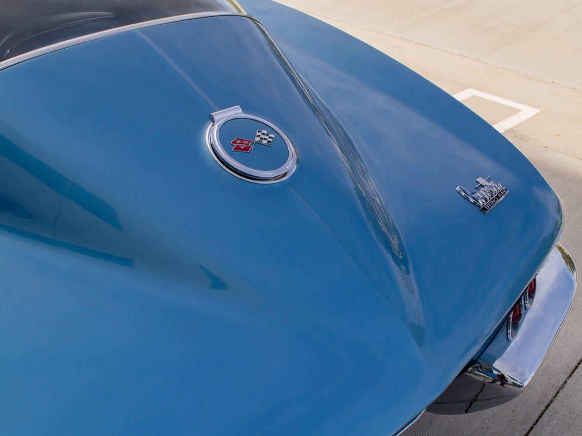 1967 blue corvette l71 coupe 0358