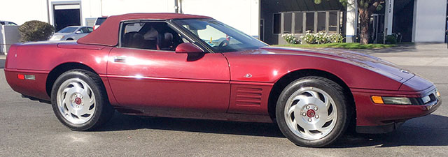 1993 40th anniversary corvette convertible coming
