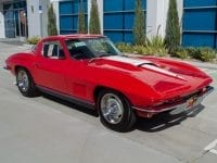 1967 rally red corvette l71 427 435 coupe 0670