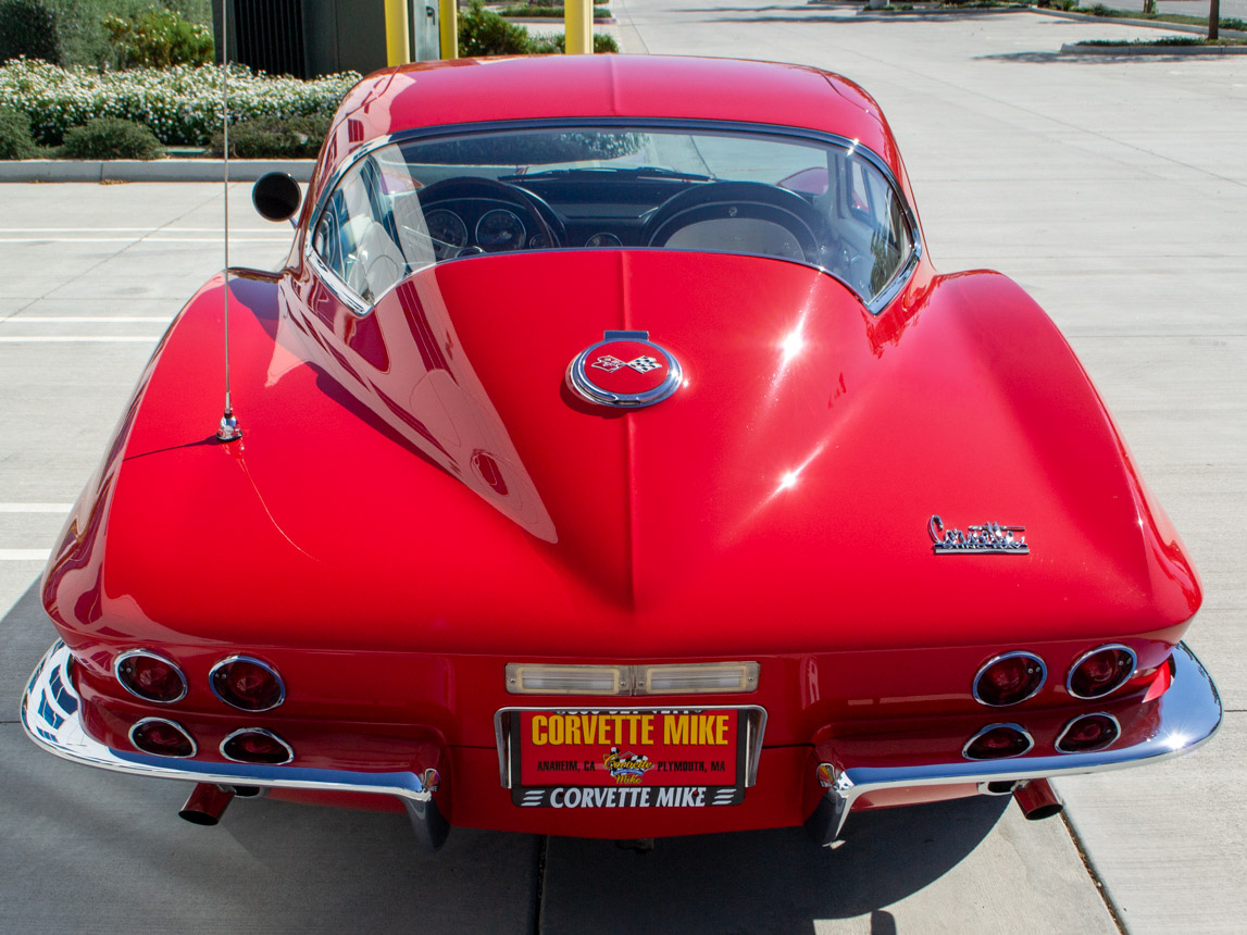 1967 rally red corvette l71 427 435 coupe 0677