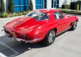 1967 rally red corvette l71 427 435 coupe 0678