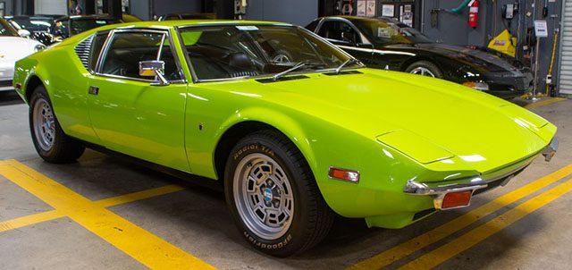 1972 green pantera coming
