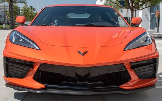 2020 Sebring Orange Z51 Corvette Exterior