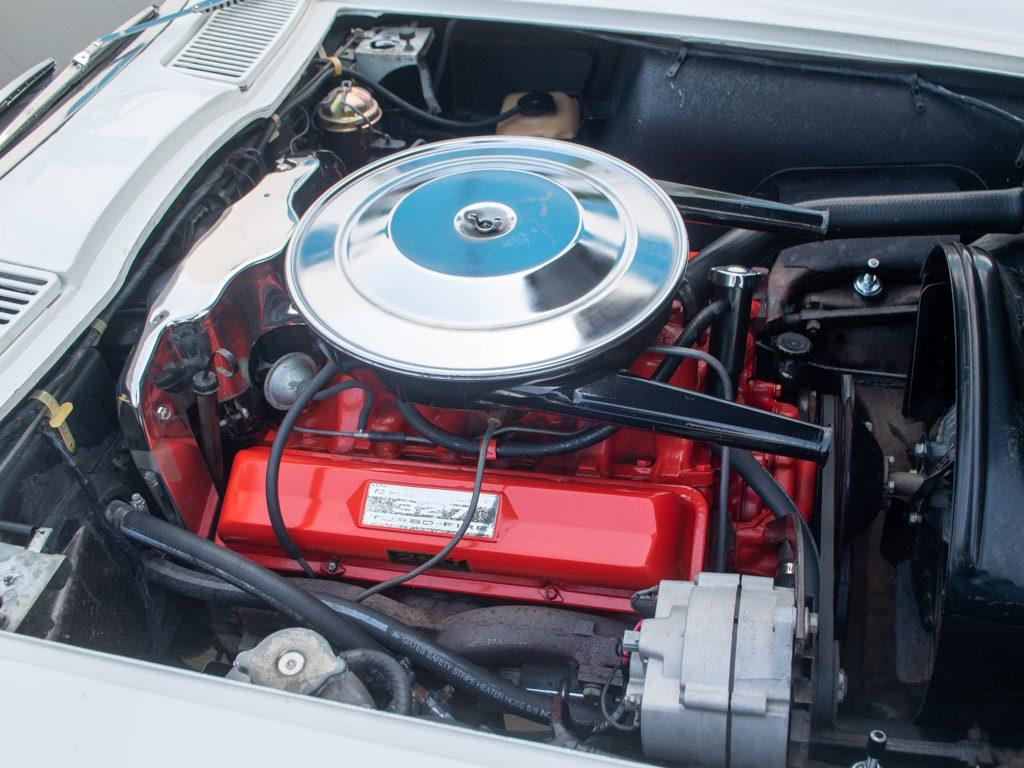 1964 white corvette convertible 0842