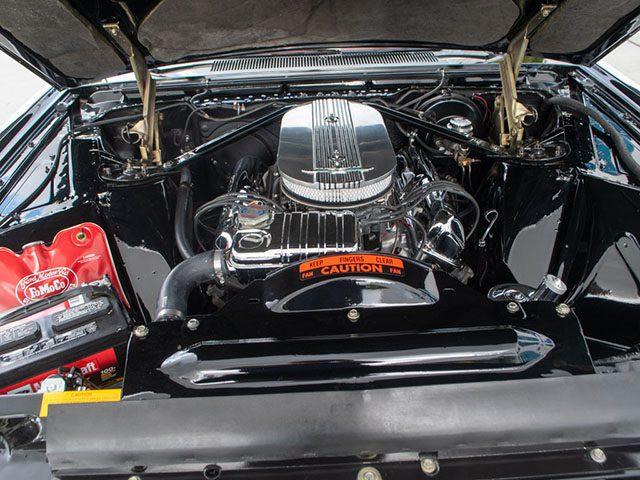 1963 black thunderbird coupe engine