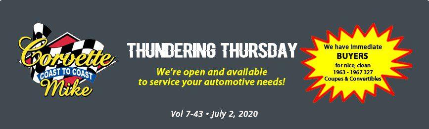thundering thursday header july
