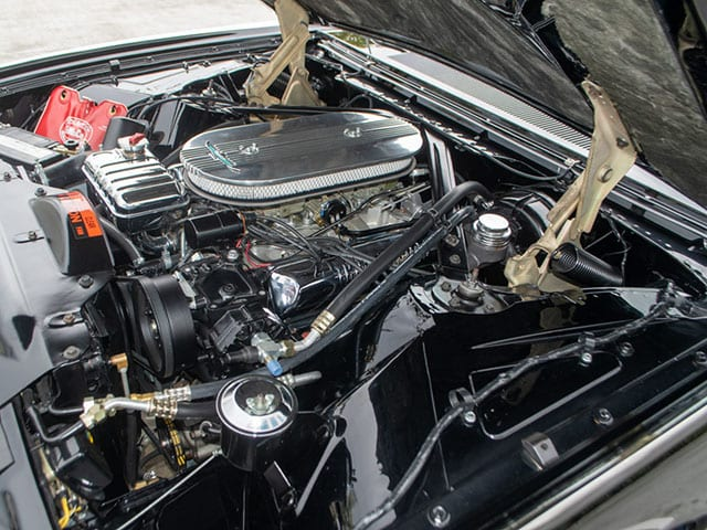 1962 Black Ford Thunderbird M Code Landau Hardtop Engine