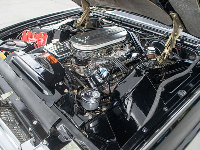 1963 Black Ford Thunderbird M Code Landau Hardtop Engine