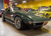 1969 Green Corvette L71 Coupe 0212