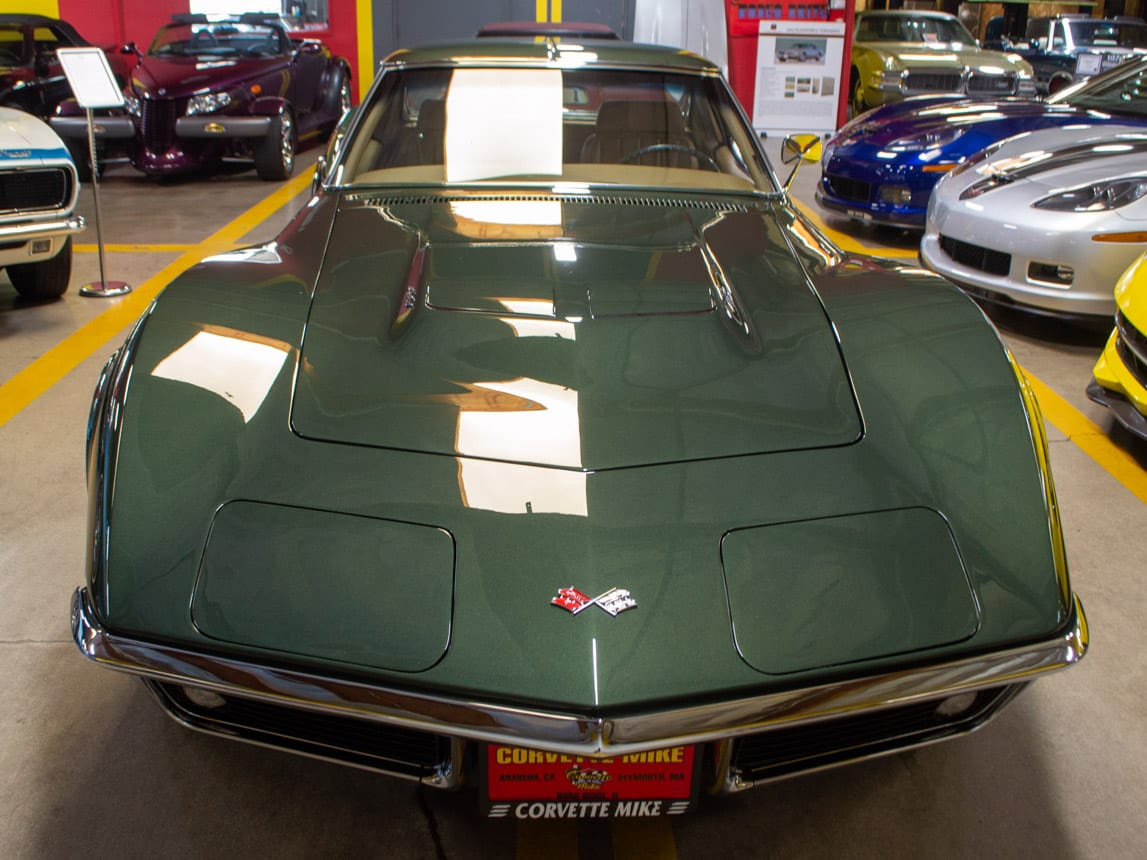 1969 Green Corvette L71 Coupe 0214