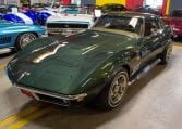 1969 Green Corvette L71 Coupe 0215