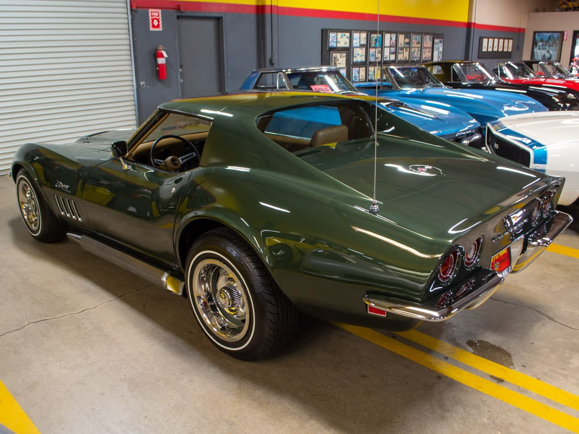 1969 Green Corvette L71 Coupe 0216
