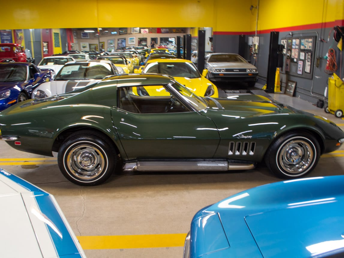1969 Green Corvette L71 Coupe 0219