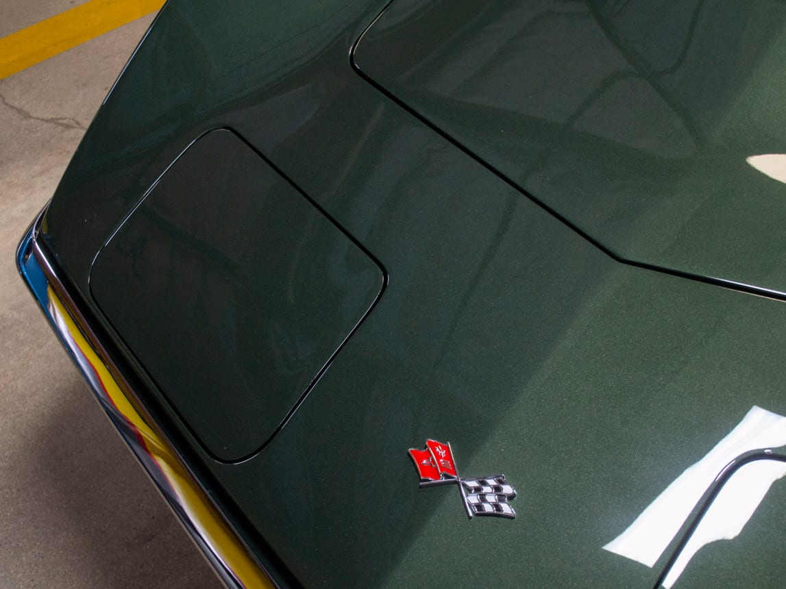 1969 Green Corvette L71 Coupe 0223