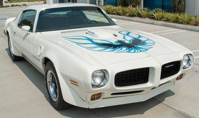 1973 White Pontiac Trans Am Sd 455 4 Speed 1