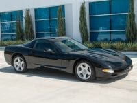 1997 Black Corvette Coupe 0917