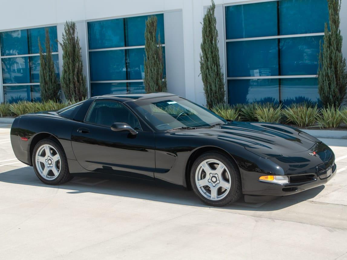 1997 Black Corvette Coupe 0917