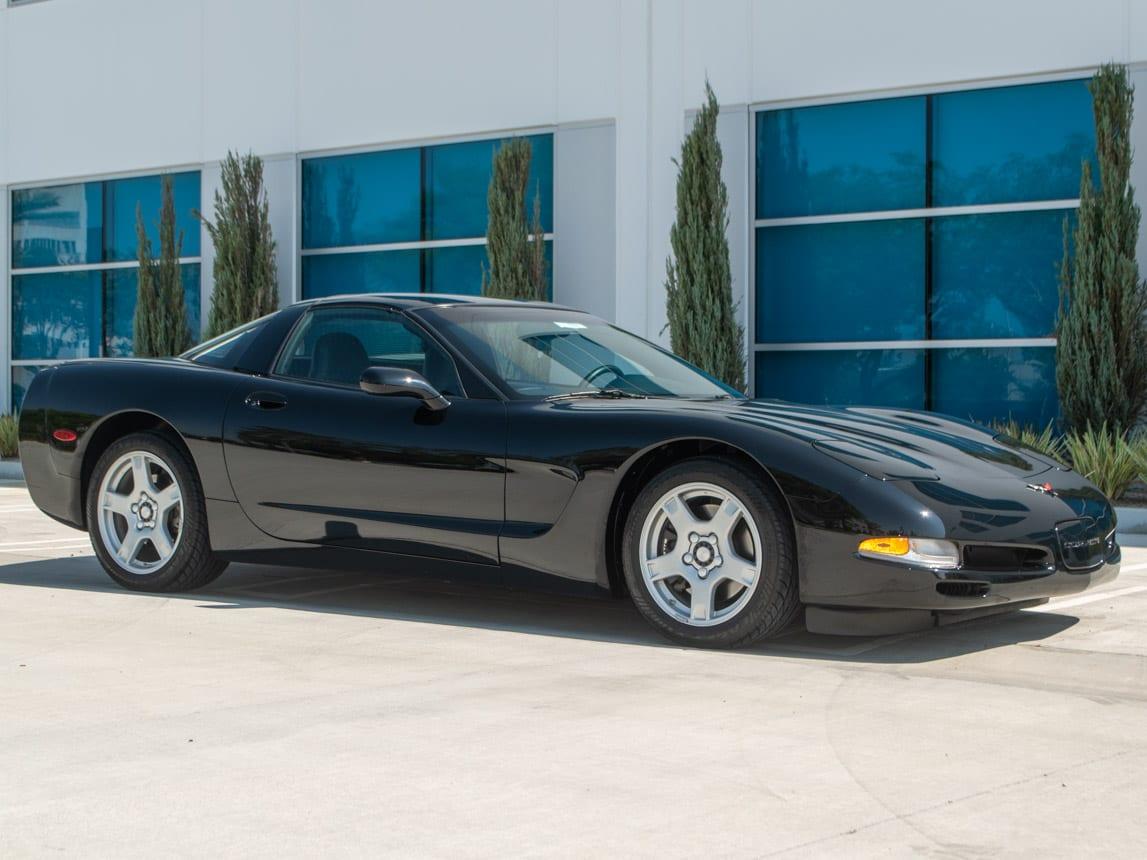 1997 Black Corvette Coupe 0918