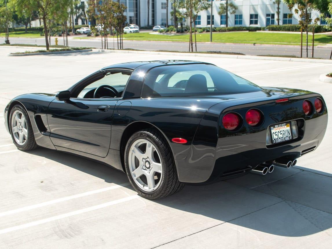 1997 Black Corvette Coupe 0923