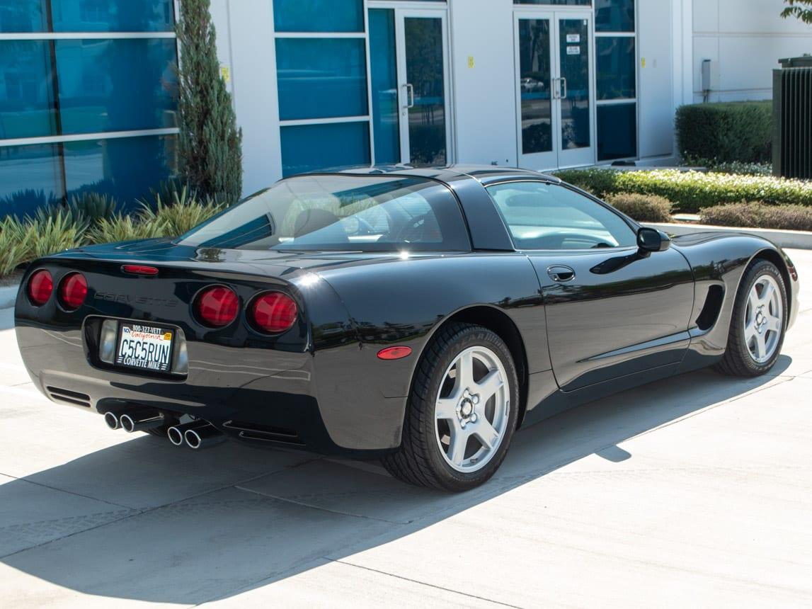 1997 Black Corvette Coupe 0925