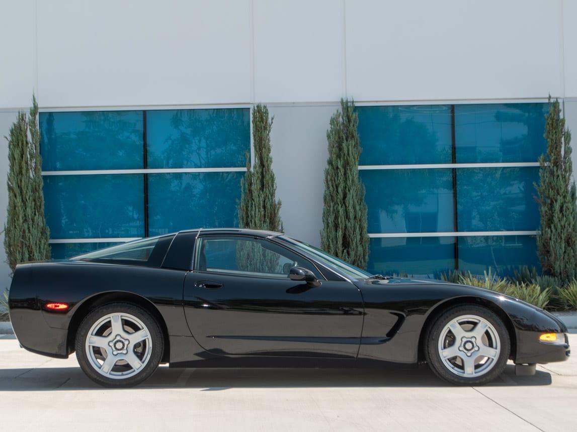 1997 Black Corvette Coupe 0926