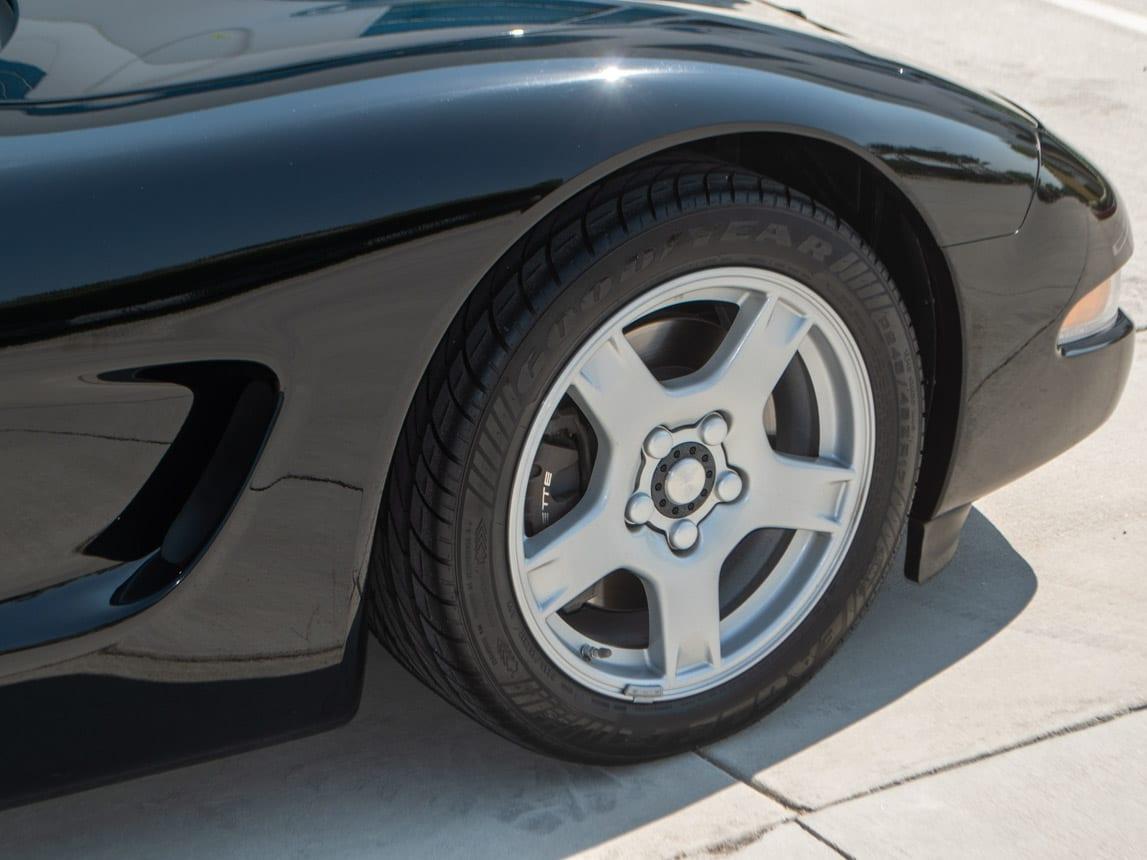 1997 Black Corvette Coupe 0927