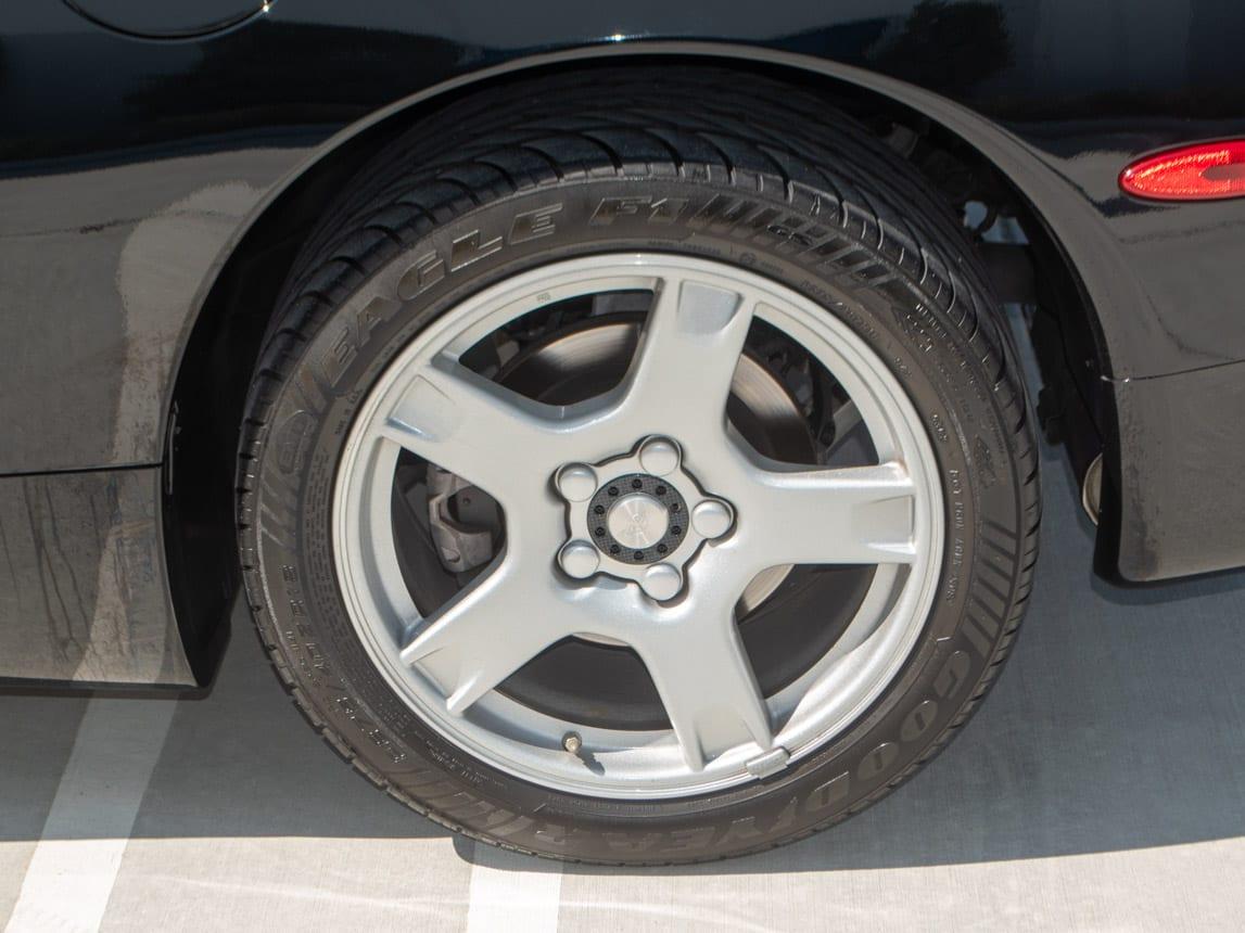1997 Black Corvette Coupe 0928