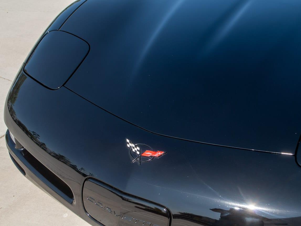 1997 Black Corvette Coupe 0930