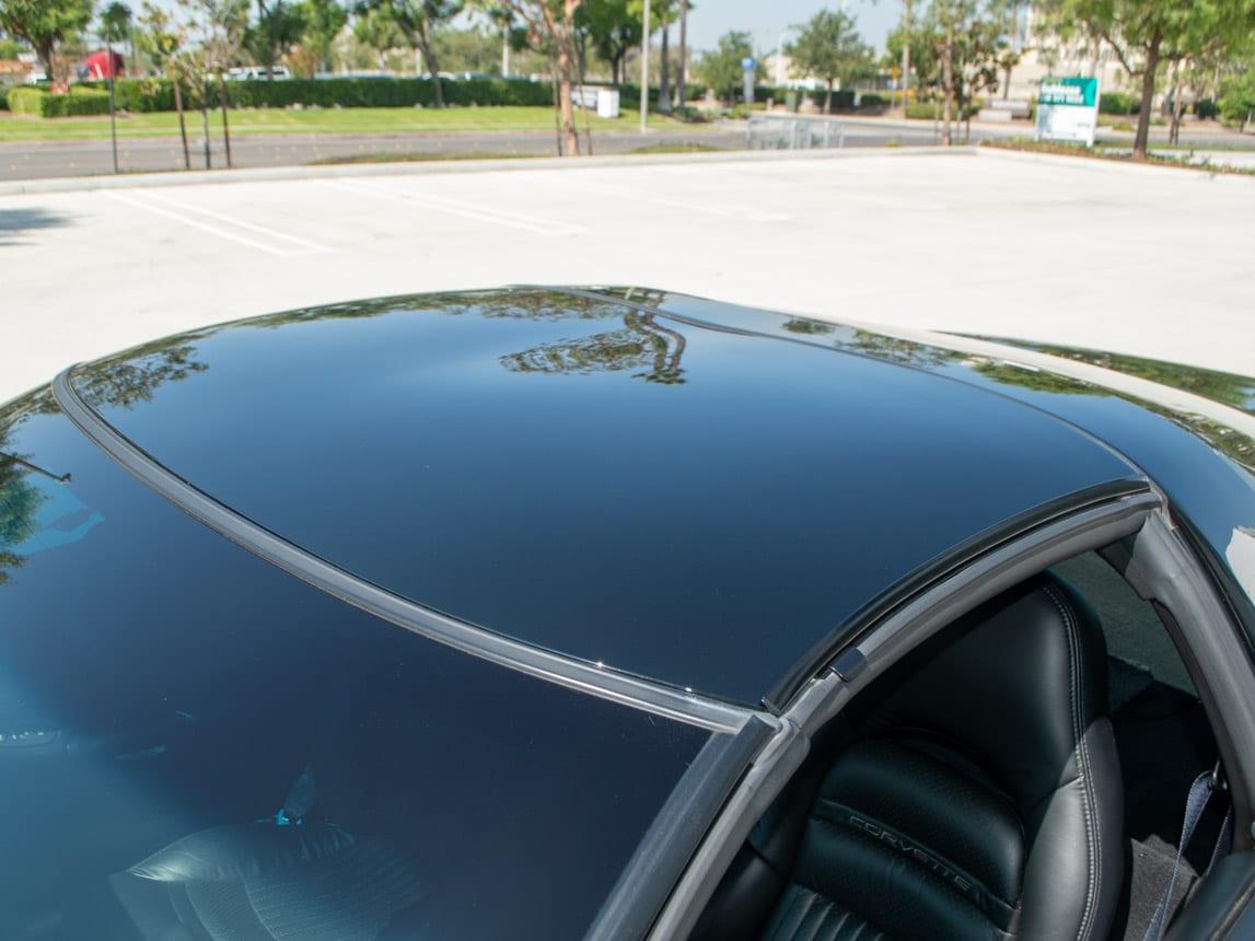 1997 Black Corvette Coupe 0931