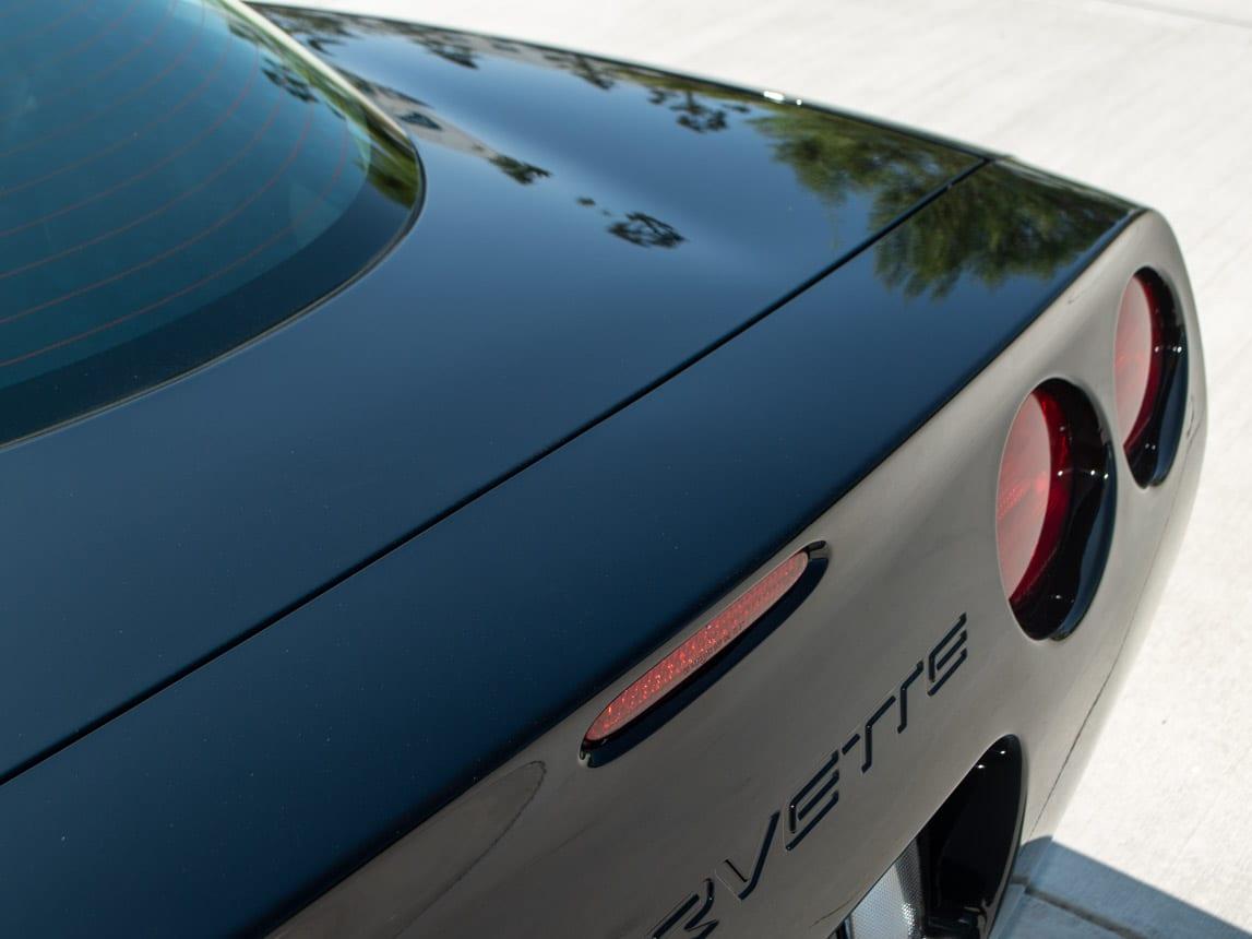 1997 Black Corvette Coupe 0932
