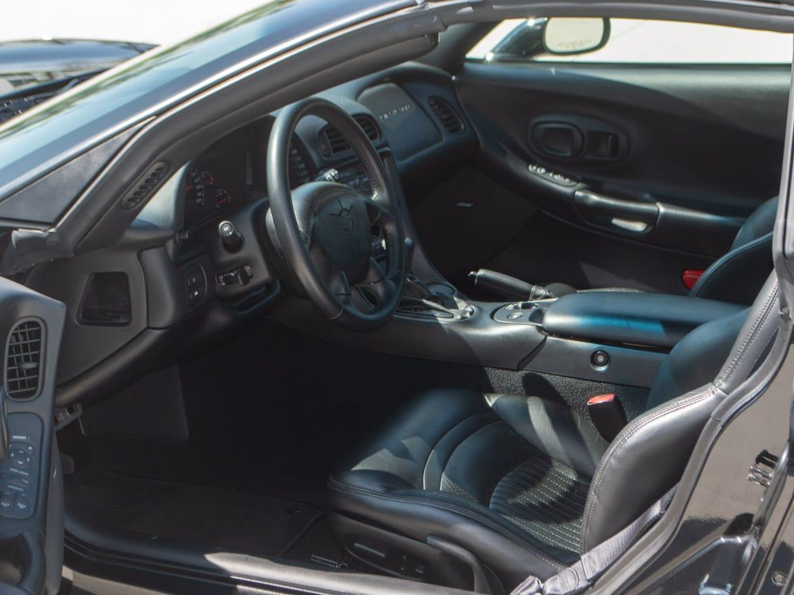 1997 Black Corvette Coupe 0933