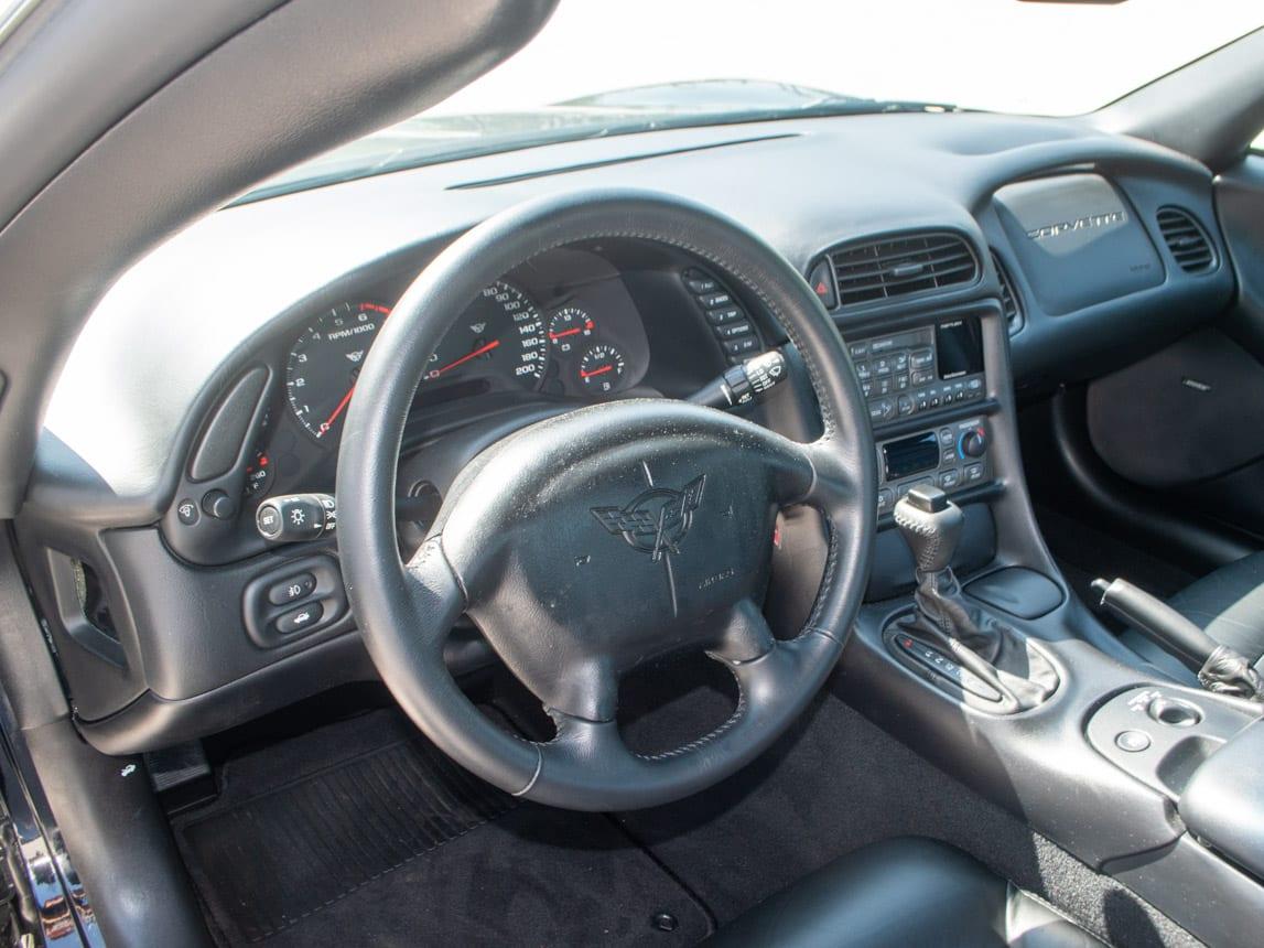 1997 Black Corvette Coupe 0937