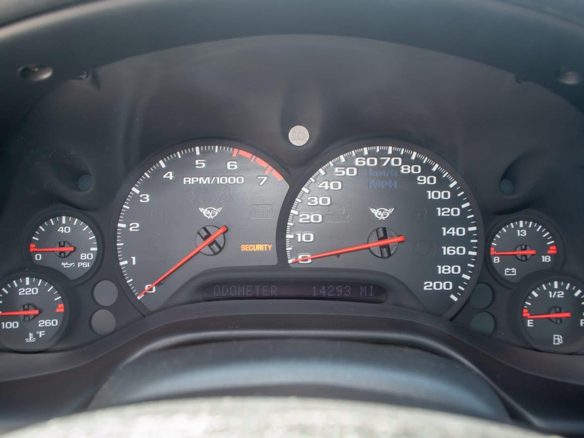 1997 Black Corvette Coupe 0938