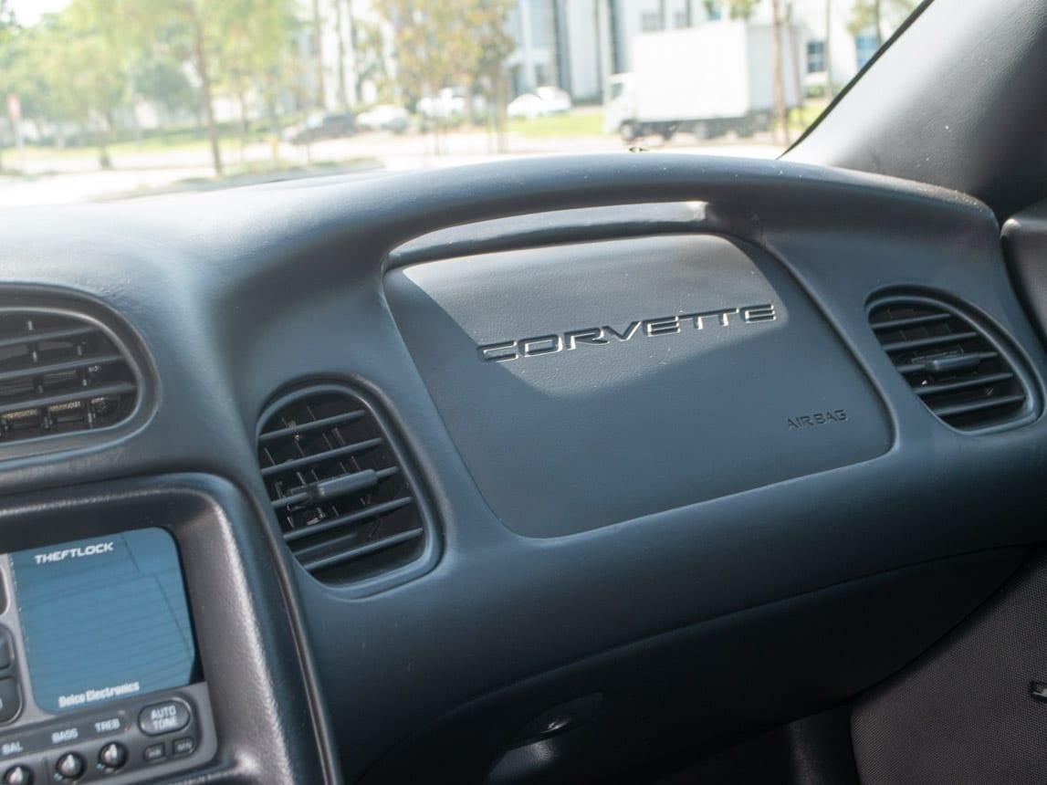 1997 Black Corvette Coupe 0941