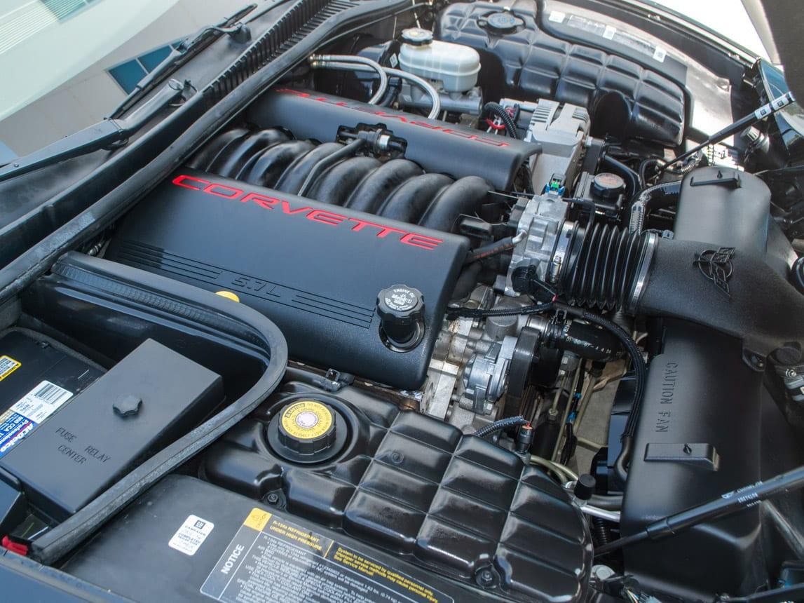 1997 Black Corvette Coupe 0950