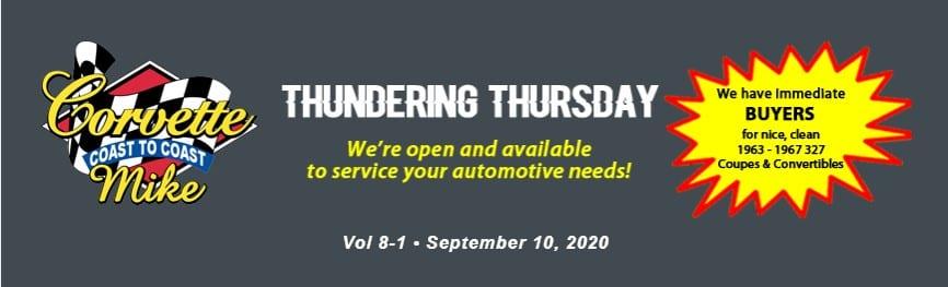 Thundering Thursday Sept 10