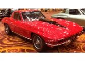 1967 red corvette 400ho ac 9