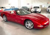 2002 Magnetic Red Corvette Convertible 1