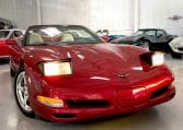 2002 Magnetic Red Corvette Convertible 2