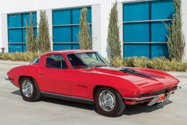1967 Red 427 400hp Corvette Coupe Air Conditioning 0587