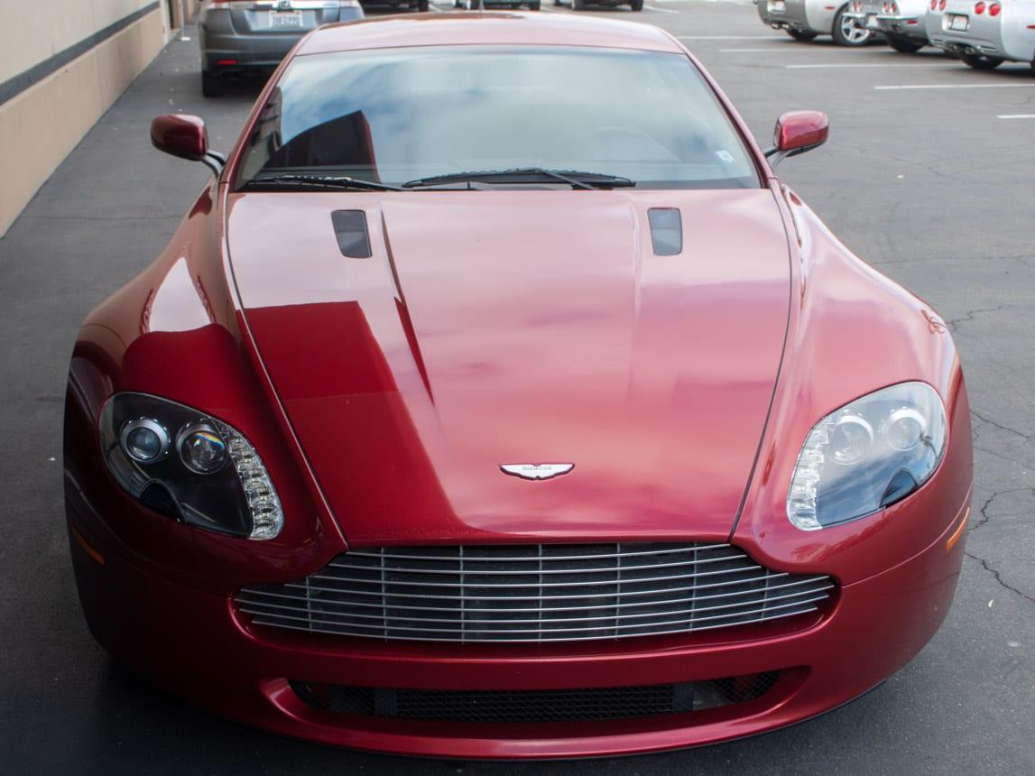 2006 Burgundy Aston Martin 0346