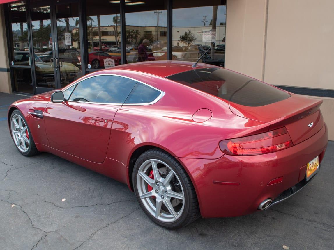 2006 Burgundy Aston Martin 0348