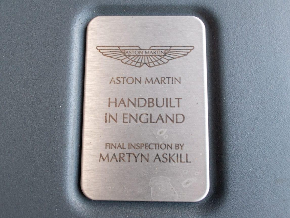 2006 Burgundy Aston Martin 0357
