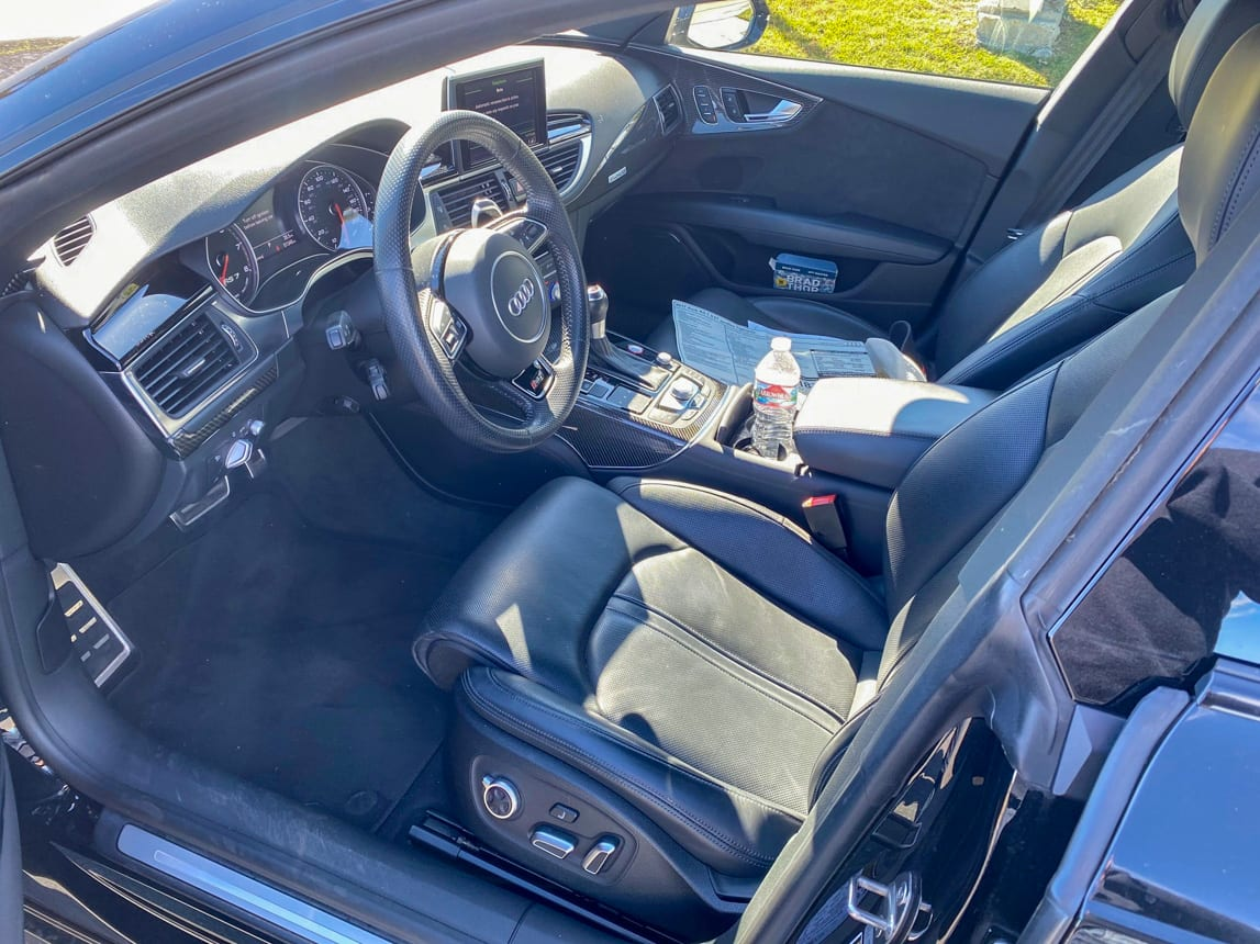 2017 Black Audi RS7 3