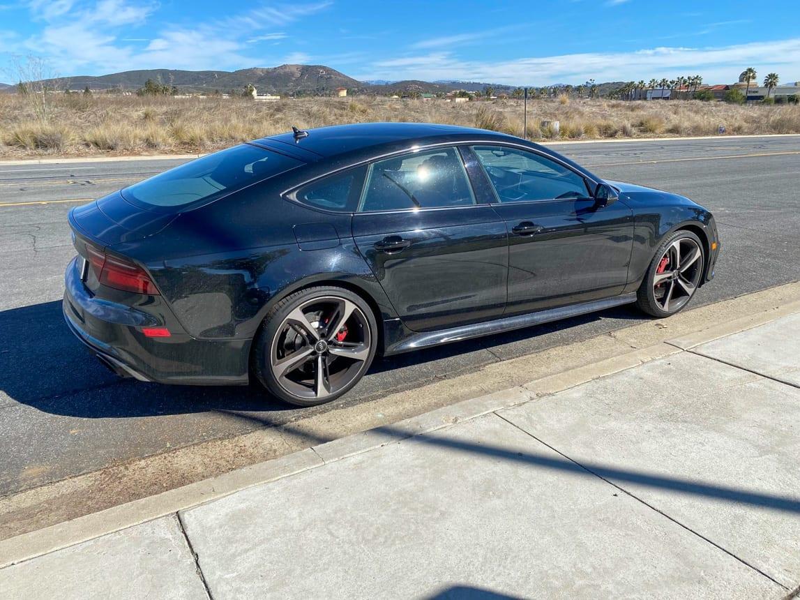 2017 Black Audi RS7 5