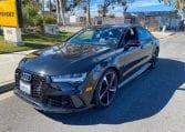 2017 Black Audi RS7 6